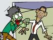 אובמה נגד הרשע שבפנים
