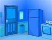 משחק בריחה בכחול: המטבח