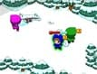 משחק מבצר שלג