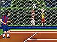 משחק טניס כדורגל