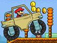 משחק מריו משאית מפלצת