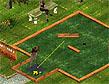 משחק מיני גולף בפארק