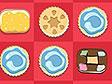 משחק עוגיות בשורות