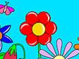 משחק צביעת פרחים