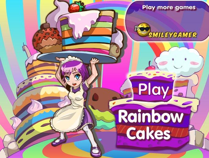 משחק עוגות קשת