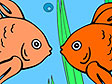 משחק צביעת דגי זהב