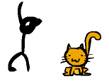 משחק המקלון והחתלתול