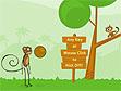 משחק קוף קיק-אוף