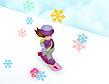 בטי במירוץ שלג