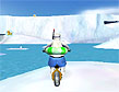 משחק דוב קוטב על גלגלים