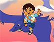 משחק דייגו רוכב הדינוזאורים