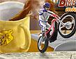 משחק אופנוע בכוס של תה