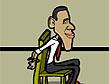 אובמה: בריחה נשיאותית