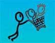משחק גיבורי עגלת הקניות
