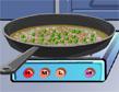 מופע הבישול: אורז ועוף מוקפץ