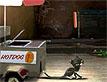בולט: חתולה בדוכן נקניקיות