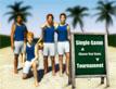משחק כדורגל חופים