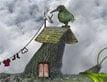 משחק הציפור וצלחת הלוויין