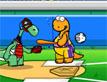 משחק בייסבול דינוזאורים