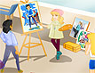 משחק: ציירת החלומות