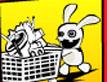 משחק ארנבים לירח!