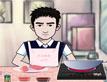 גבר במטבח