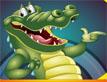 משחק צחוק של תנין