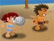 משחק כדורעף חופים