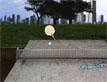 משחק פינג-פונג בפארק