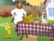 משחק לוני טונס: ארוחה מצויירת