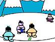 משחק סומו על הקרח